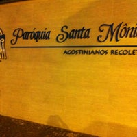 Photo taken at Paróquia Santa Mônica by Simone P. on 3/18/2012