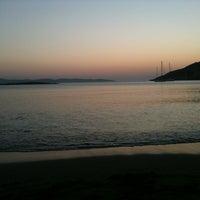 Photo taken at Tsigouri Beach by tassos k. on 7/24/2012