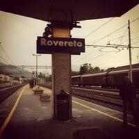 Photo taken at Stazione di Rovereto by Leonora G. on 5/6/2012