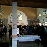 Photo taken at Gereja Katolik Santo Paulus P. Bun by Hartadi P. on 5/13/2012