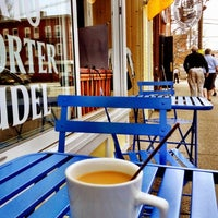 Photo taken at Kaffee Vonsolln by Crystal P. on 4/14/2012