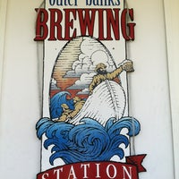 Photo taken at Outer Banks Brewing Station by Melissa S. on 7/19/2012