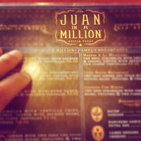 Photo taken at Juan in a Million by Ahad R. on 7/29/2012