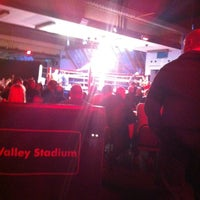 Photo taken at Don Valley Stadium by Gaz on 4/14/2012