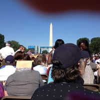 Photo taken at GWU Graduation Ceremony on the National Mall 2012 by Christina R. on 5/20/2012