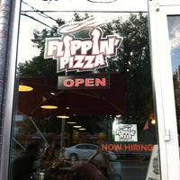 Photo taken at Flippin' Pizza by Alison D. on 8/12/2012