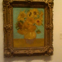 Photo taken at Sunflowers by Vincent Willem van Gogh by Elle M. on 6/3/2012