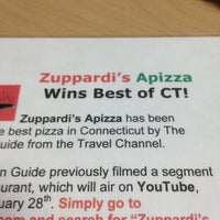 Photo taken at Zuppardi's Apizza by Ron B. on 3/10/2012