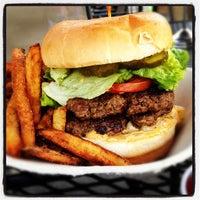 Photo taken at Village Burger by Shane O. on 4/7/2012