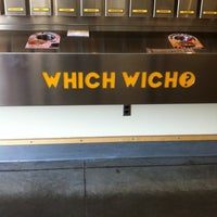 Photo taken at Which Wich Superior Sandwiches by Amy B. on 3/25/2012