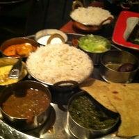 Photo taken at Bhojan Vegetarian Restaurant by Ony F. on 5/4/2012