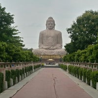 Photo taken at Great Buddha Statue by dipika r. on 8/13/2012