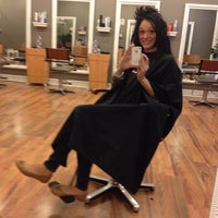 Photo taken at Hair Color Xperts Morehead by Amanda A. on 4/4/2012