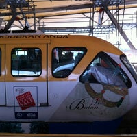 Photo taken at RapidKL Hang Tuah (ST3) LRT Station by Leena A. on 8/31/2012