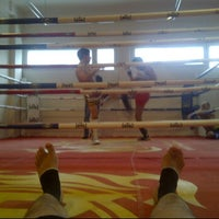 Photo taken at Varaxa Fighting Gym by Alexey B. on 2/25/2012
