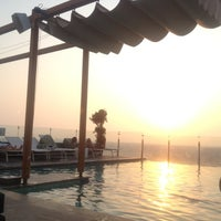 Photo taken at Pool@ Radisson Royal Hotel by S3doun on 9/1/2012