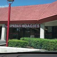 Photo taken at Laspada's Original Hoagies by David P. on 9/9/2012