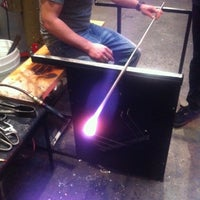 Photo taken at Seattle Glassblowing Studio & Gallery by Frank Y. on 4/26/2012