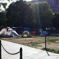 Photo taken at Occupy K St. by Terry M. on 4/16/2012