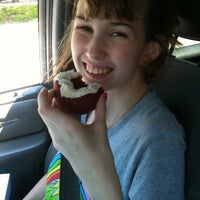 Photo taken at Love Bugs Donuts And Bakery by Carly L. on 6/14/2012