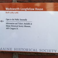 Photo taken at Longfellow House by Jesse R. on 4/13/2012
