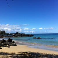 Photo taken at Waialea Bay by Catherine K. on 4/22/2012