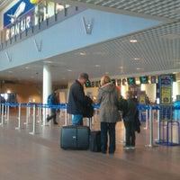 Photo taken at Moss Lufthavn, Rygge (RYG) by Martins Z. on 5/15/2012