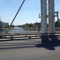 Photo taken at North Ave. Bridge by Chrissie R. on 6/8/2012