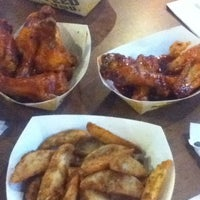 Photo taken at Buffalo Wild Wings by Shinae L. on 4/15/2012