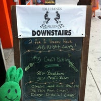 Photo taken at Idle Hands Bar by greenie m. on 6/17/2012