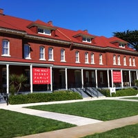 Photo taken at The Walt Disney Family Museum by Deema A. on 3/4/2012