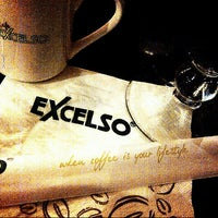 Photo taken at EXCELSO by Brinna K. on 7/9/2012