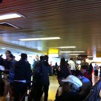 Photo taken at Gate B4 by Nick on 9/17/2011