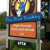Photo taken at The Blue Donkey by Maya R. on 5/22/2011