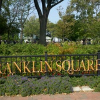 Photo taken at Franklin Square by Todd Z. on 9/3/2011