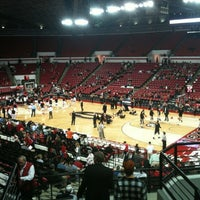 Photo taken at Stegeman Coliseum by Cindy G. on 12/20/2011