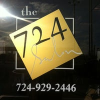 Photo taken at THE 724 Salon by Josh G. on 12/12/2011