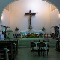 Photo taken at Assumption Church by Richard Skin C. on 10/15/2011