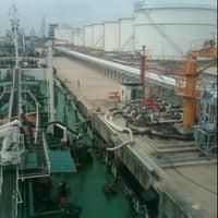 Photo taken at Universal Oil Terminalling Hub by Fredy M. on 1/26/2012