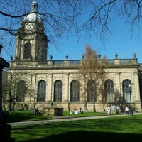 Photo taken at Birmingham Cathedral and Churchyard by Gavin B. on 3/26/2012