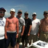 Photo taken at Capt. Tony's Great Getaway Fishing Charter by Ian K. on 6/8/2012