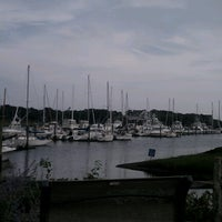 Photo taken at Brax Landing Restaurant by Lisa G. on 8/15/2012