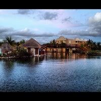 Photo taken at Grand Palladium White Sands Resort & Spa by Francisco D. on 8/19/2012