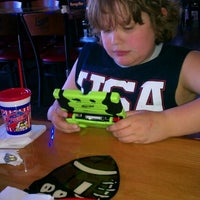 Photo taken at Fricker's by Lynne G. on 4/6/2012