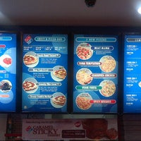 Photo taken at Domino's Pizza by Fairuz A. on 9/9/2012