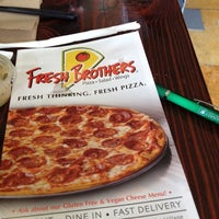Photo taken at Fresh Brothers by Danna K. on 5/2/2012