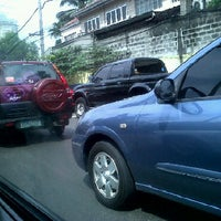 Photo taken at Ortigas & Greenmeadows Avenue Intersection by andie t. on 2/24/2011