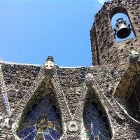 Photo taken at Cripta Gaudí by José Manuel C. on 8/14/2011