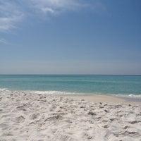 Photo taken at Blue Mountain Beach by Megan M. on 4/10/2012