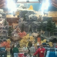 Photo taken at Cabela's by Brandon W. on 1/21/2012